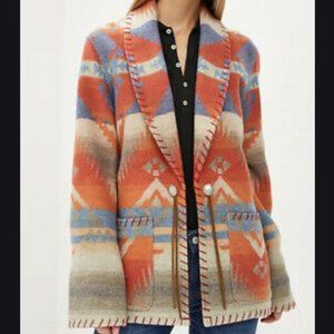 Polo Ralph Lauren Aztec Southwestern Jacket New